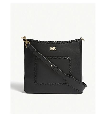 a57cb46960 MICHAEL MICHAEL KORS Gloria leather swingpack pouch (Black