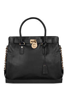 MICHAEL MICHAEL KORS Hamilton leather tote