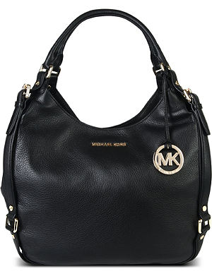 MICHAEL MICHAEL KORS Bedford large soft-grain leather hobo