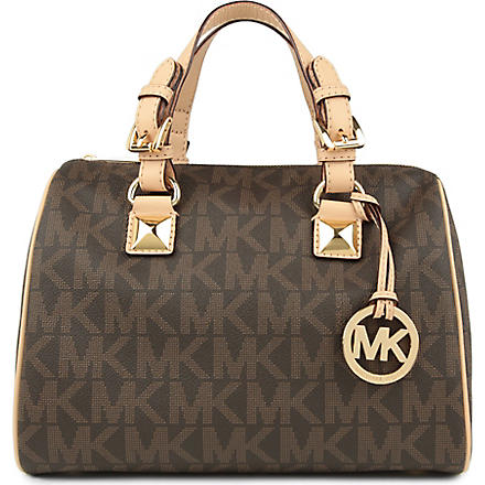 MICHAEL KORS Grayson bowling bag (Brown
