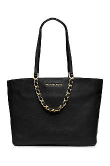 MICHAEL KORS Harper grainy saffiano leather tote
