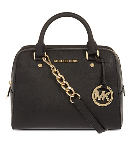 MICHAEL MICHAEL KORS Jet set travel satchel (Black