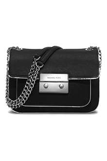 MICHAEL KORS Sloan saffiano leather shoulder bag