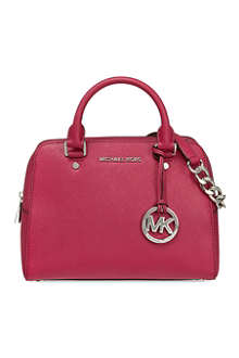 MICHAEL MICHAEL KORS Saffiano medium satchel