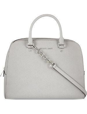 MICHAEL MICHAEL KORS Saff large satchel silver