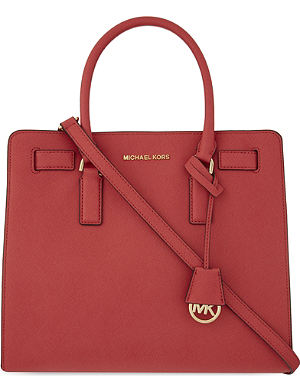 MICHAEL MICHAEL KORS Dillon large Saffiano leather tote