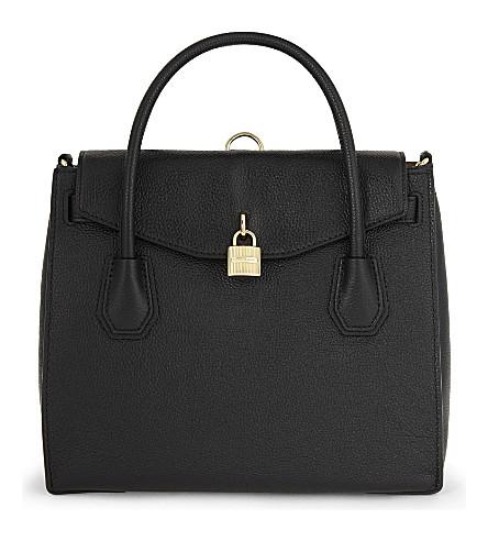 MICHAEL MICHAEL KORS Mercer large grained leather (Black