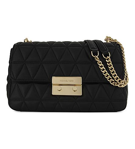 MICHAEL MICHAEL KORS Sloan leather shoulder bag (Black