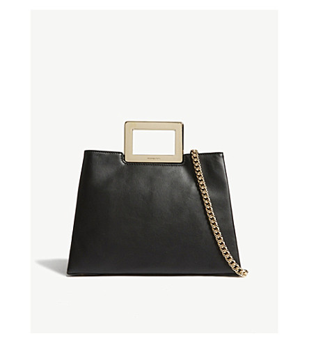 MICHAEL MICHAEL KORS Kristen leather cross-body bag (Black