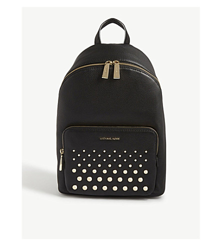 MICHAEL MICHAEL KORS Wythe large grained leather backpack (Black