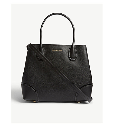 MICHAEL MICHAEL KORS Mercer Gallery leather tote (Black