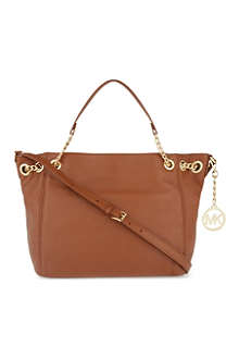 MICHAEL MICHAEL KORS Jet Set medium leather shoulder bag
