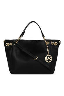 MICHAEL KORS Jet Set Chain medium leather tote