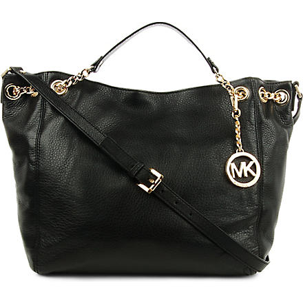 MICHAEL KORS Jet Set Chain large tote (Black