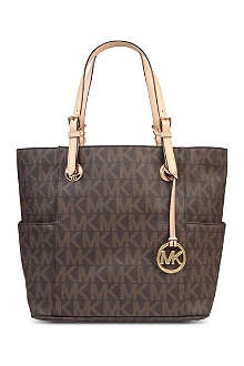 MICHAEL MICHAEL KORS Jets Set East/West Signature tote