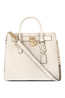 MICHAEL KORS Hamilton saffiano leather tote