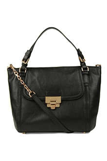 MICHAEL KORS Deneuve large leather shoulder bag