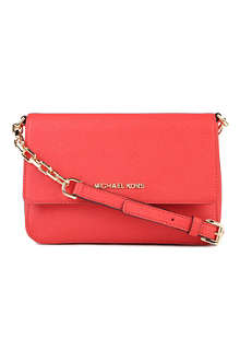 MICHAEL KORS Selma saffiano leather shoulder bag