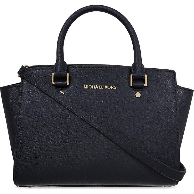 73 off michael kors specchio sutton small satchel black leather buy rh michaelkorscheaphandbag com