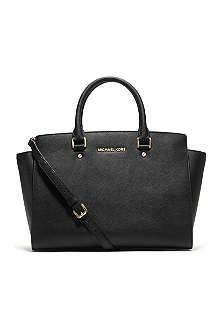 MICHAEL MICHAEL KORS Selma large top-zip satchel