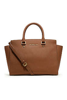 MICHAEL KORS Selma large zip-top satchel