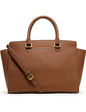 MICHAEL MICHAEL KORS Selma large zip-top satchel
