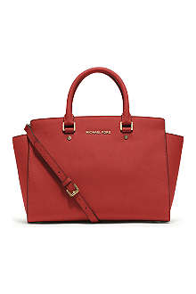 MICHAEL KORS Selma large top-zip satchel