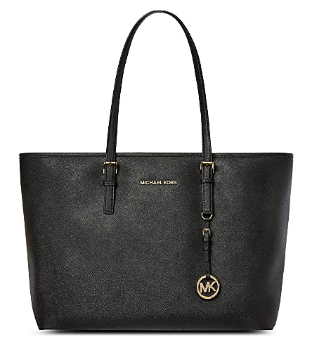 MICHAEL MICHAEL KORS Jet Set medium multifunctional tote (Black