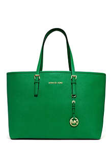 MICHAEL KORS Jet Set medium leather multifunctional tote