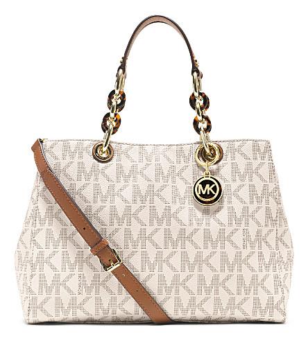 MICHAEL MICHAEL KORS Cynthia medium satchel (Vanilla