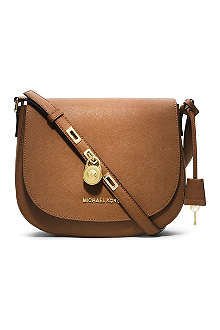 MICHAEL KORS Hamilton large leather cross-body bag