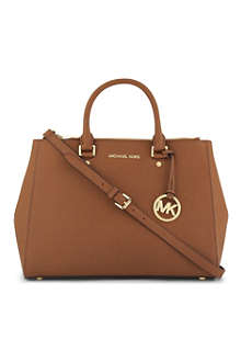 MICHAEL KORS Saffiano leather tote