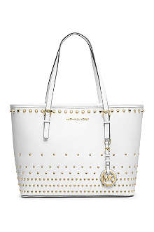 MICHAEL KORS Jet Set Travel Degrade small leather tote