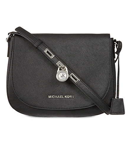 MICHAEL MICHAEL KORS Hamilton large messenger bag (Black