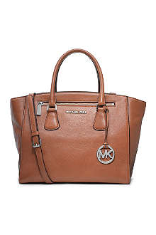 MICHAEL KORS Sophie large leather satchel