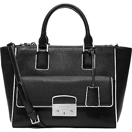 MICHAEL KORS Audrey large satchel (Black