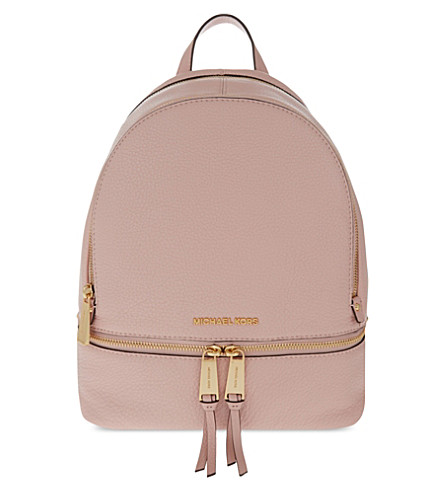 MICHAEL MICHAEL KORS Rhea medium leather backpack (Blossom