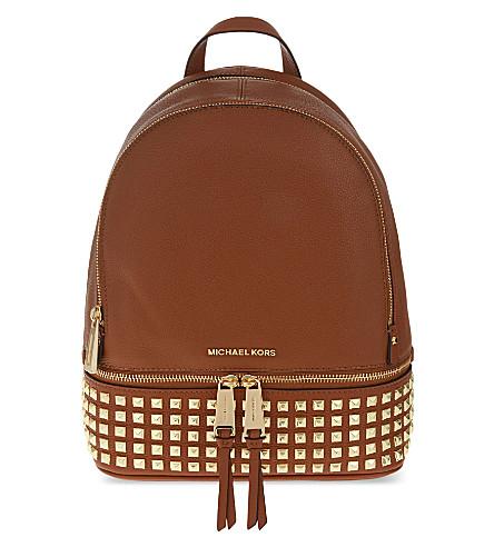 MICHAEL MICHAEL KORS Rhea leather backpack (Luggage