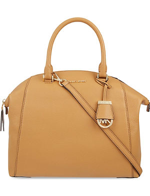 MICHAEL MICHAEL KORS Riley large leather satchel