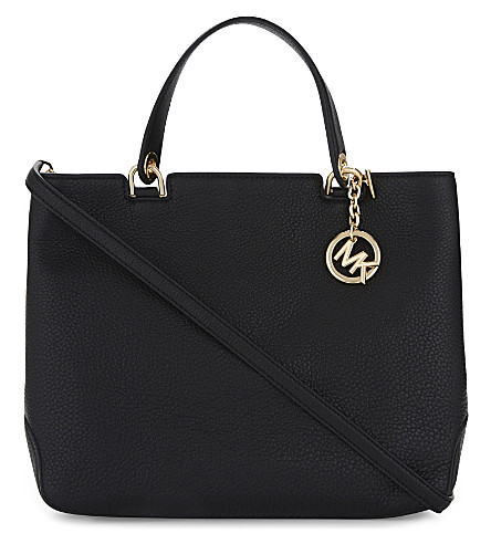 MICHAEL MICHAEL KORS Anabelle large leather tote (Black