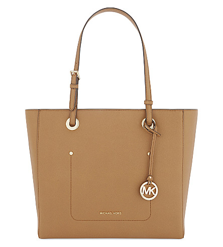 MICHAEL MICHAEL KORS Walsh large leather tote (Acorn