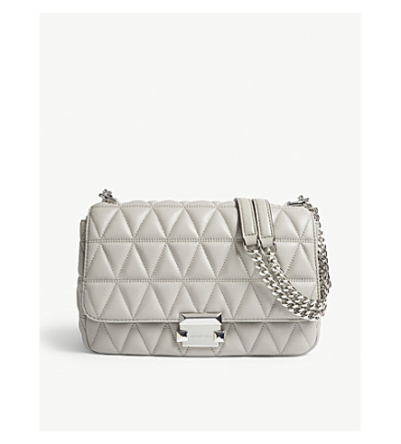 77c9b2710784e6 MICHAEL MICHAEL KORS - Sloan large quilted shoulder bag | Selfridges.com