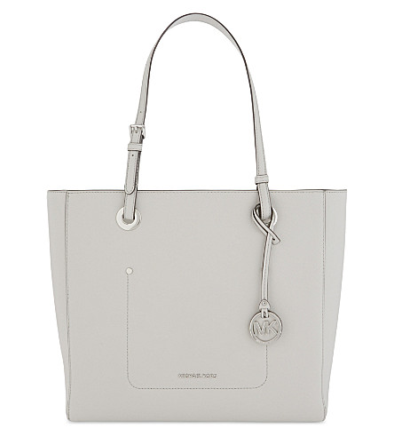 MICHAEL MICHAEL KORS Walsh large leather tote (Aluminum