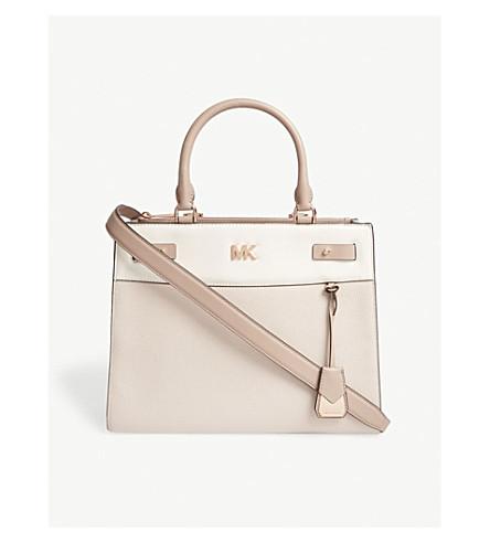 MICHAEL MICHAEL KORS Gramercy medium leather satchel (Sfp/ltcr/fwn