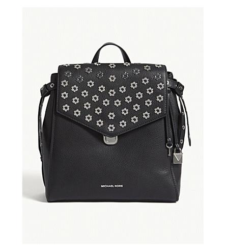 MICHAEL MICHAEL KORS Bristol medium grained leather backpack (Black