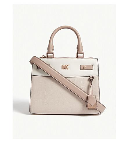 MICHAEL MICHAEL KORS Gramercy leather mini messenger bag (Sfp/ltcr/fwn