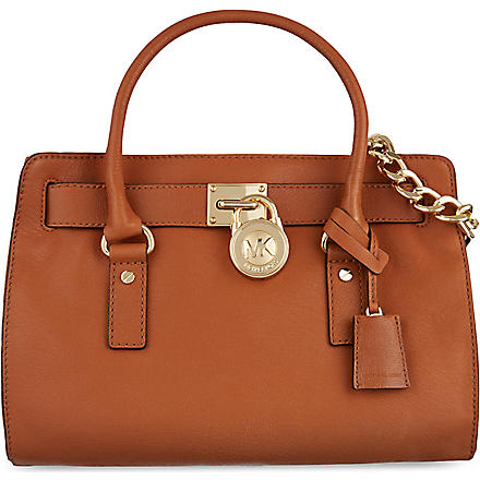 MICHAEL MICHAEL KORS Hamilton East/West satchel (Luggage