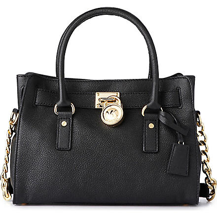 MICHAEL KORS Hamilton medium tote (Black