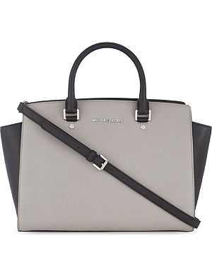 MICHAEL MICHAEL KORS Selma large leather shoulder bag