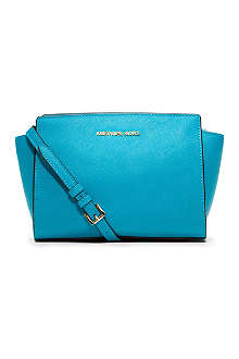 MICHAEL KORS Selma medium leather cross-body bag